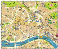 city map liège city map