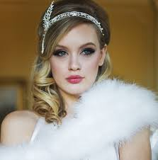 gatsby style hair great gatsby style wedding accessories