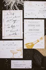 new years wedding invitations and glamorous the gold custom new years wedding