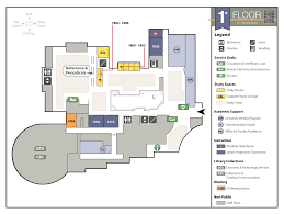 Administration Office Floor Plan by Joyner Library Floor Maps