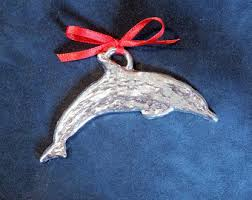 dolphin ornament etsy