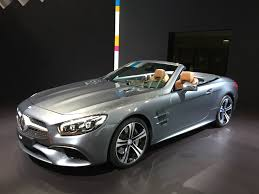 cars mercedes 2015 2017 mercedes benz sl gets svelte new look nine speed gearbox video