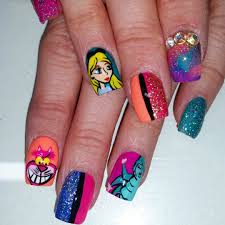 you can choose these interesting nail designs for you little
