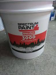 spectrum paint spec pro 3000 interior sp3000 white in kansas city