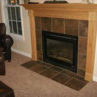 Porcelain Tile Fireplace Ideas by Good Looking White Porcelain Tile Fireplace Including Light Oak