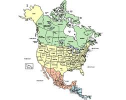 map for usa and canada us and canada printable map physical printable map of usa canada