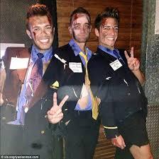 Backlash Halloween Revelers Wear Bloody Asiana Airlines