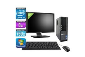 ordinateur de bureau dell pas cher pc de bureau reconditionnés et occasions darty