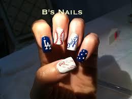 dodgers b u0027s nails l a nail art nails pinterest dodgers