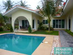 private pool villa near dolphin bay beach in samroiyot
