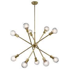 sputnik chandelier an iconic design for more than 50 years pinery 10 light sputnik chandelier lighting pinterest