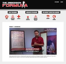 obsession formula review can adam lyons help you trigger sexual