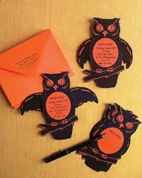 halloween wedding ideas martha stewart handmade halloween invitations and cards martha stewart
