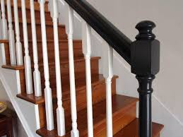 Stair Banister Parts Inspiring Stair Banister For Perfect Interior Look House