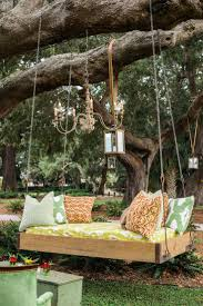 Swing Bench Outdoor by Best 20 Outdoor Swing Beds Ideas On Pinterest Pergola Ideas