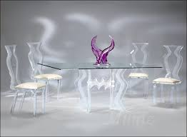 acrylic dining room table acrylic dining sets acrylic furniture tables chairs hand made