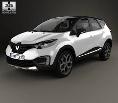 captur renault black renault captur 2017 3d model hum3d