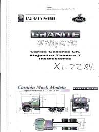 manual de taller mack granite