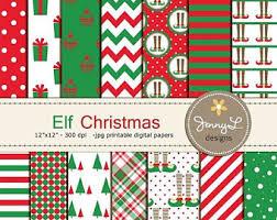 elf christmas etsy