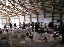 wedding re this exactly what the pole barn we re using looks like but w a