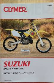 suzuki rm 250 manual u2022 17 50 picclick uk