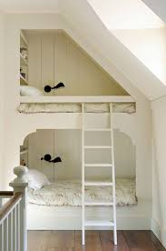 girls room that have a office up stairs space saving beds bedrooms