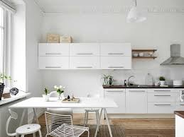 White Small Kitchen Designs by Minimalist Home Modern Interior Design Ideas Amaza Design