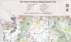 Pacific Crest Trail Washington Map by A Trail Takes Shape In The Pacific Northwest The Bill Lane