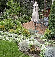Landscaping Ideas For Sloped Backyard Triyae Com U003d Deck Ideas For A Sloped Yard Various Design