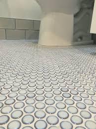 white penny tile fantastic boysu0027 bathroom features home depot