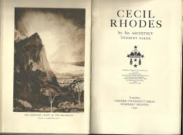 Southern Lights Book by Cecil Rhodes By His Architect By Baker Herbert Oxford University
