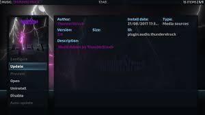 guide install thunderstruck kodi addon repo music addon