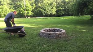 How To Create A Fire Pit In Your Backyard by Fire Pit Project You Can Do In One Hour