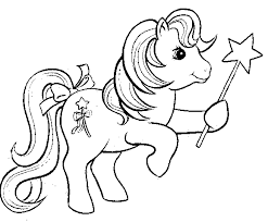 pony friendship magic coloring pages girls