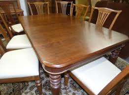 Pennsylvania House Dining Room Furniture Pennsylvania House Old Havana Dining Table With 8 Chairs Marva U0027s