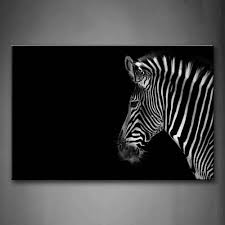 black wall art wall art designs awesome black wall art black amazoncom black and white portrait of zebra head black