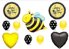 bumblebee decorations happy bee day bumblebee birthday party balloons