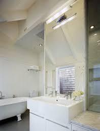 Bathroom Vanity New York by New York Small Double Vanity Bathroom Beach Style With Sloped