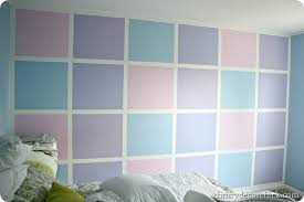 lavender painted walls an ombre wall guest room progress from thrifty decor chick
