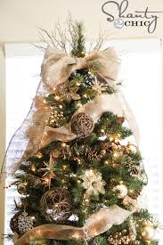 christmas tree topper easy diy tree topper shanty 2 chic