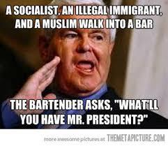 Newt Gingrich Meme - funny newt gingrich joke meme on imgfave