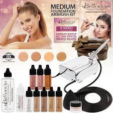 professional airbrush makeup machine belloccio professional medium shade airbrush cosmetic makeup
