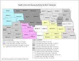 Map Of Fargo Air Quality North Dakota Department Of Health