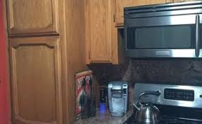 Light Oak Kitchen Cabinets Oak Update Painting Your Own Cabinets Hometalk