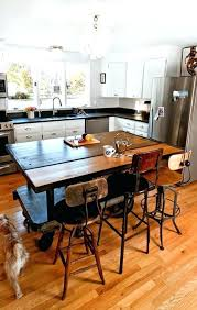 Kitchen Island Table With Stools Kitchen Island Table With Chairs Chairs For Kitchen Island Table