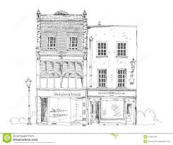 Small Shop Floor Plans Old English Town House With Small Shop Or Business On Ground Floor