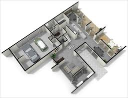 Studio Loft Apartment Floor Plans by Bone Structure U2013 Rendered Spaces