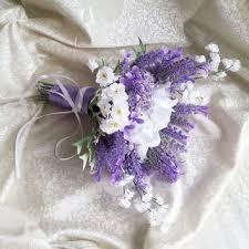 wedding flowers lavender shop satin ribbon bouquet on wanelo