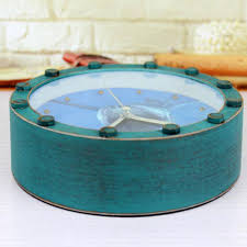 aliexpress com buy retro antique style deep sea shark desk clock