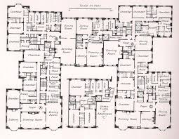 High End House Plans by Milton J Black Floor Plans The Devoted Classicist Kissingers